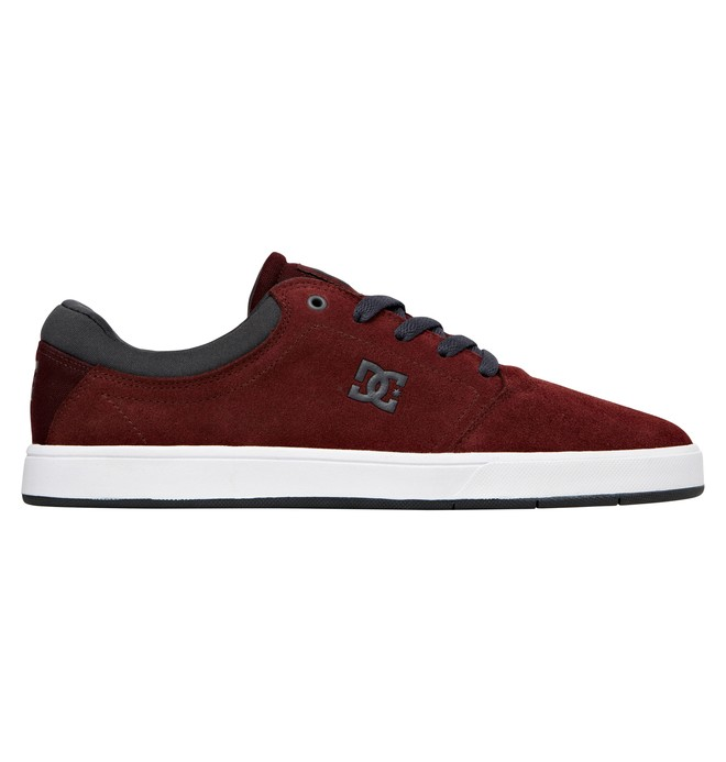 0 Men's Crisis Shoes Red ADYS100029 DC Shoes