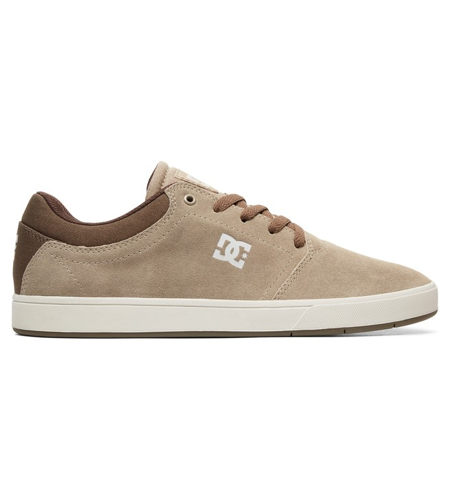 0 Men's Crisis Shoes Brown ADYS100029 DC Shoes