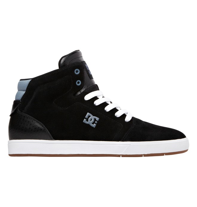 0 Men's Crisis High Top Shoes Black ADYS100032 DC Shoes