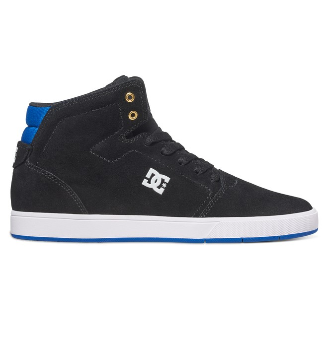 0 Men's Crisis High-Top Shoes Black ADYS100032 DC Shoes