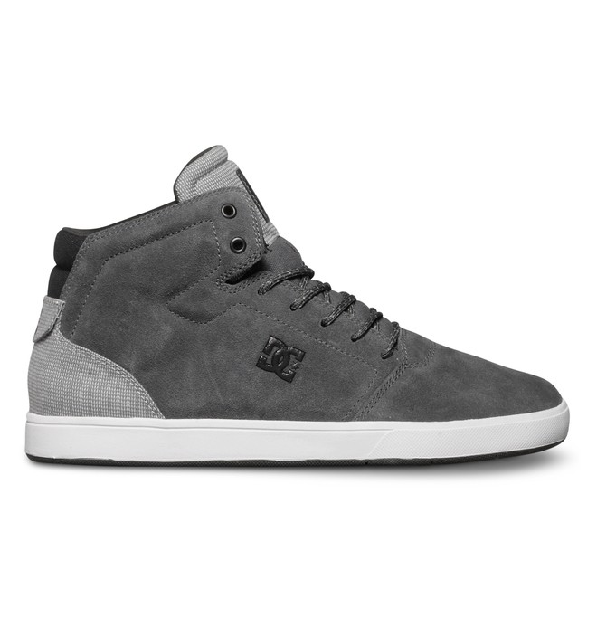 0 Men's Crisis High-Top Shoes Grey ADYS100032 DC Shoes