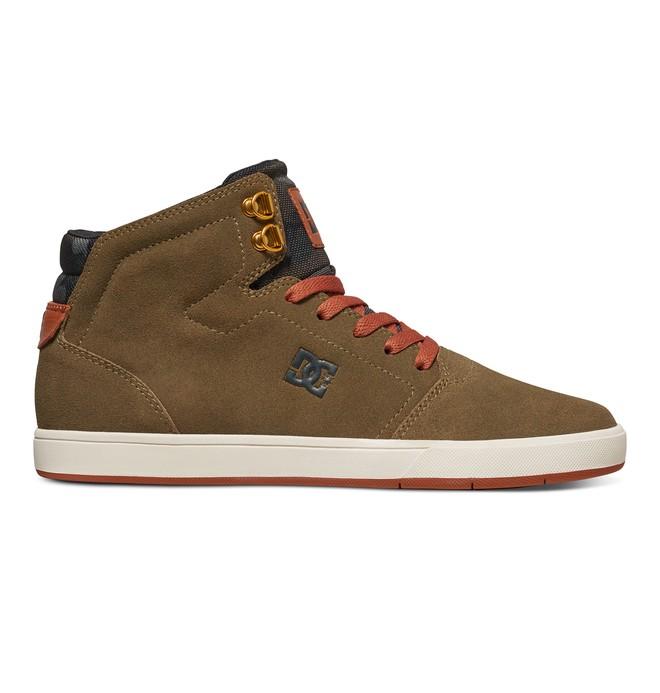 0 Crisis High - Zapatillas Altas Verde ADYS100032 DC Shoes