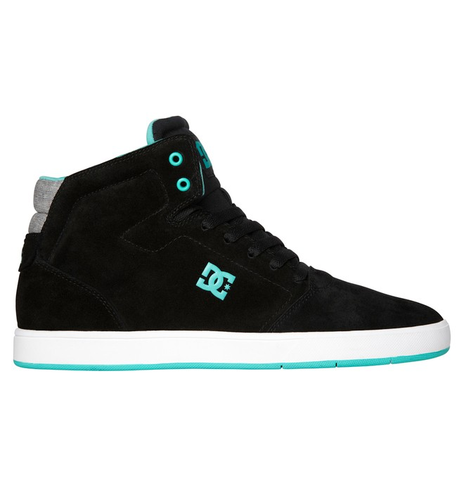 0 Men's Crisis High-Top Shoes Black ADYS100032 DC Shoes