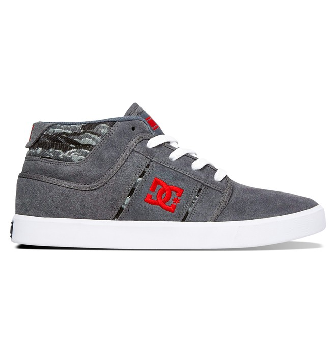 0 Men's RD Grand Mid Shoes Grey ADYS100065 DC Shoes