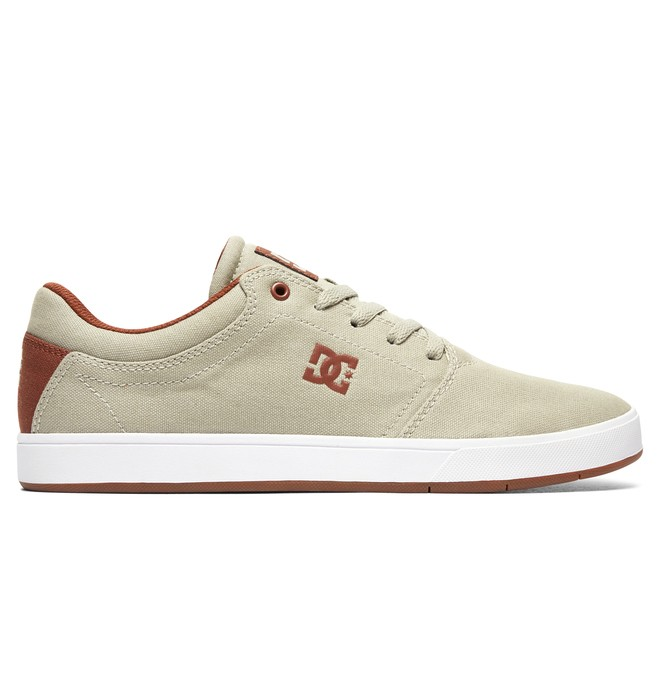 0 Men's Crisis TX Shoes Beige ADYS100066 DC Shoes