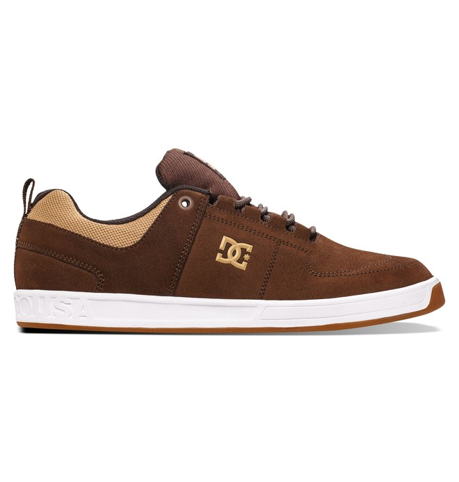 0 Men's Lynx Low Top Shoes Brown ADYS100101 DC Shoes