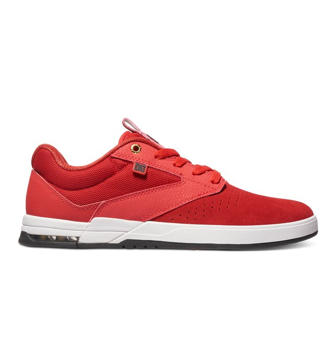 0 Wolf S - Low-Top Skate Shoes Red ADYS100151 DC Shoes