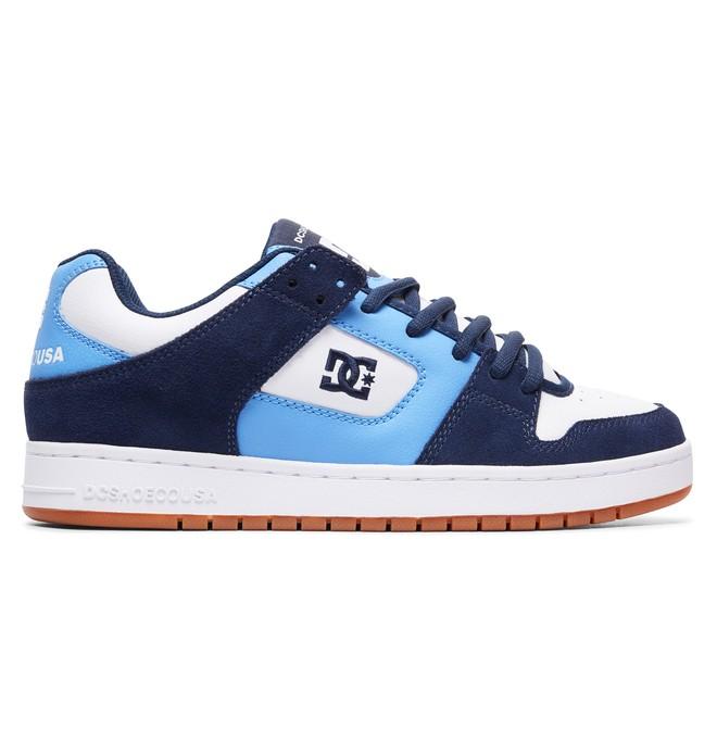 0 Men's Manteca Shoes Blue ADYS100177 DC Shoes