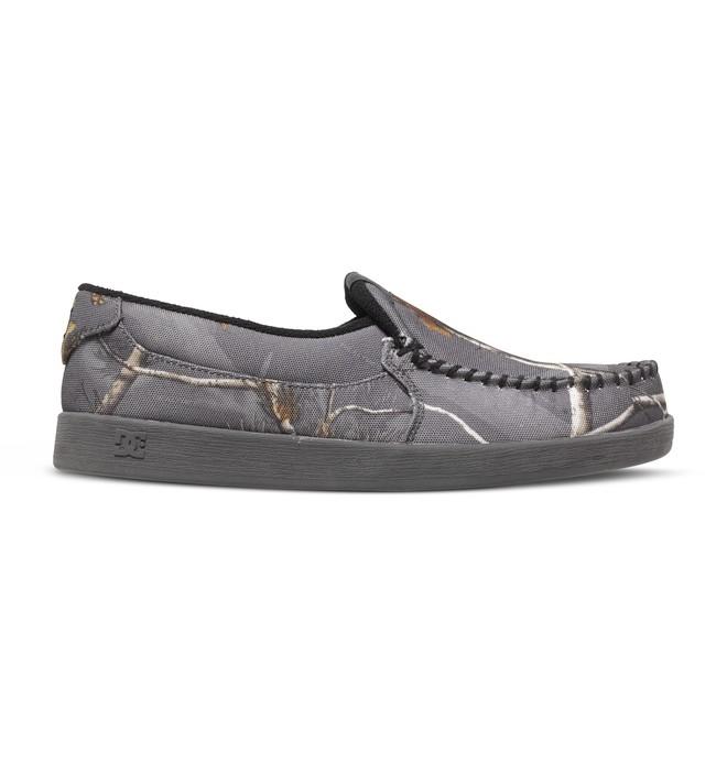0 Men's Villain Realtree Slip-On Shoes  ADYS100216 DC Shoes