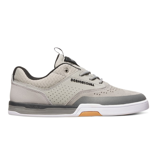 0 Men's Cole Lite 3 S Skate Shoes Grey ADYS100230 DC Shoes