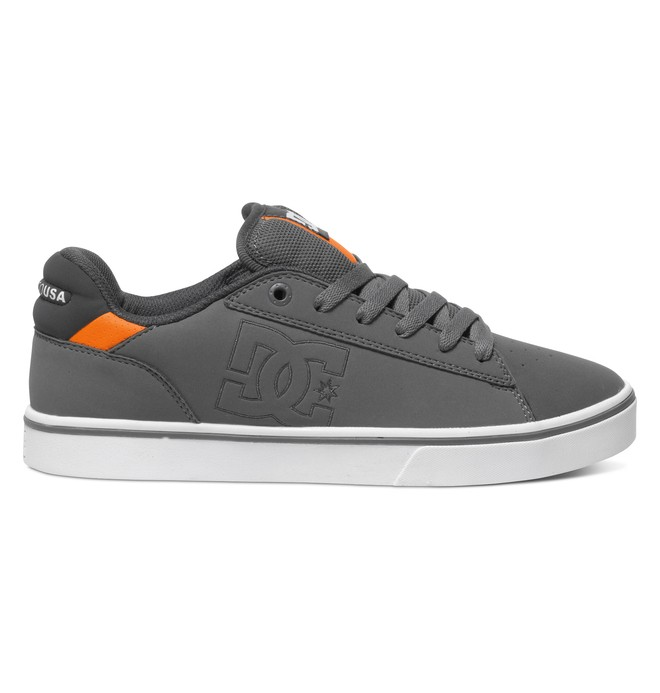 0 Notch - Low-Top Shoes Grey ADYS100271 DC Shoes
