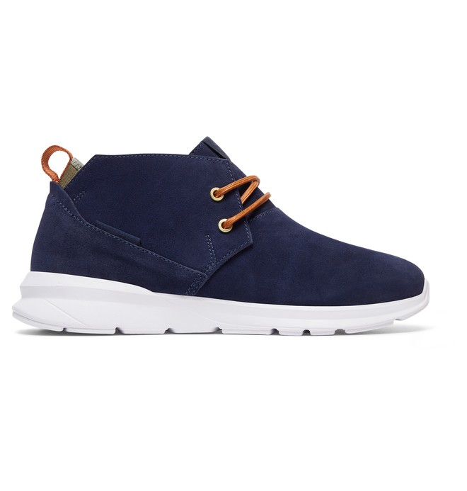 0 Ashlar - Mid-Top Shoes Blue ADYS100316 DC Shoes