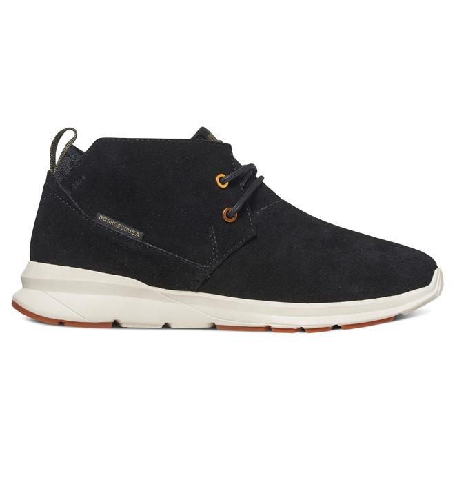 0 Ashlar - Mid-Top Shoes Black ADYS100316 DC Shoes