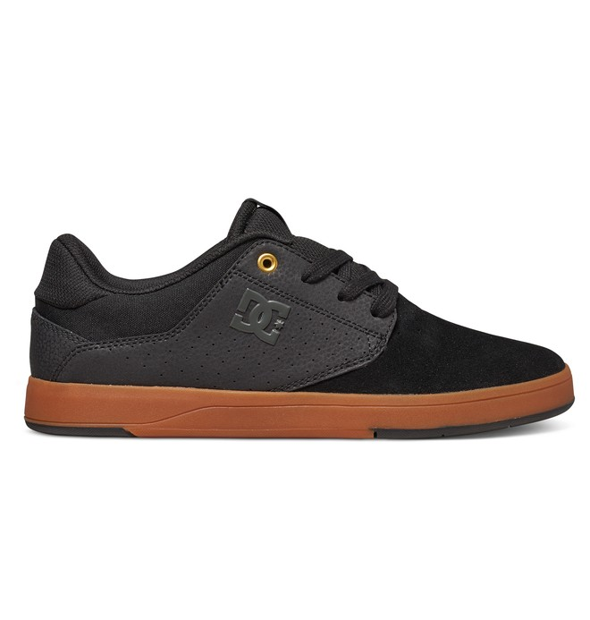 0 Men's Plaza TC S Skate Shoes Black ADYS100319 DC Shoes