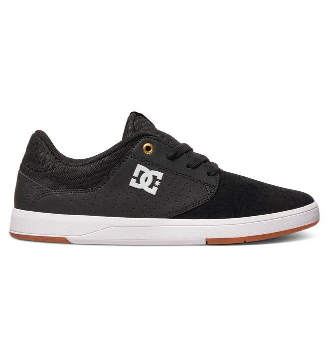 0 Men's Plaza S Skate Shoes Black ADYS100319 DC Shoes