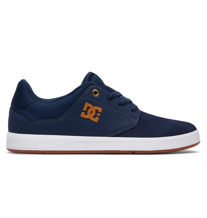 0 Men's Plaza S Skate Shoes Blue ADYS100319 DC Shoes
