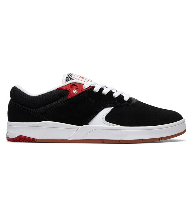 0 Tiago S - Skate Shoes Black ADYS100386 DC Shoes