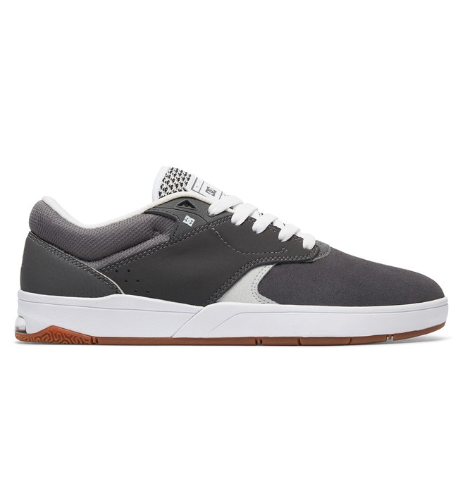 0 Tiago S - Skate Shoes Grey ADYS100386 DC Shoes