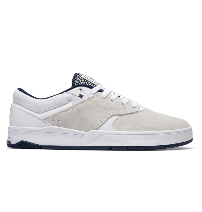 0 Tiago S - Skate Shoes White ADYS100386 DC Shoes