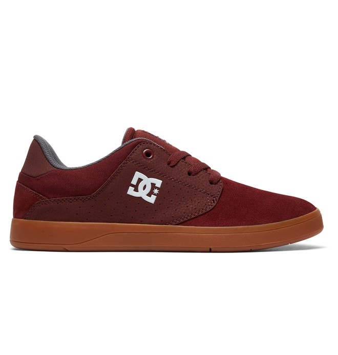 0 Men's Plaza Shoes Red ADYS100401 DC Shoes