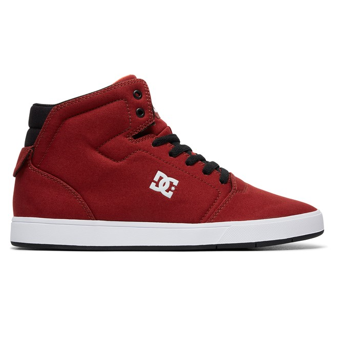 0 Crisis High TX  - Chaussures montantes Rouge ADYS100404 DC Shoes