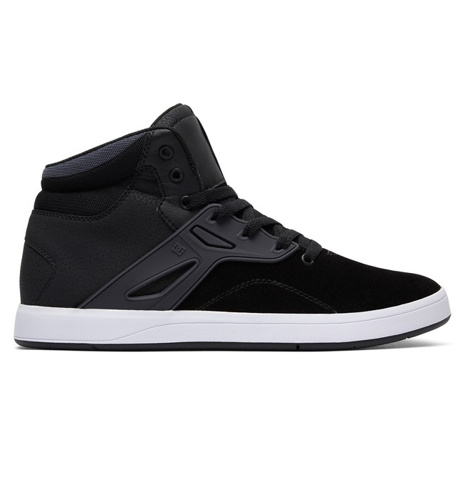 0 Men's Frequency High Top Shoes Black ADYS100410 DC Shoes