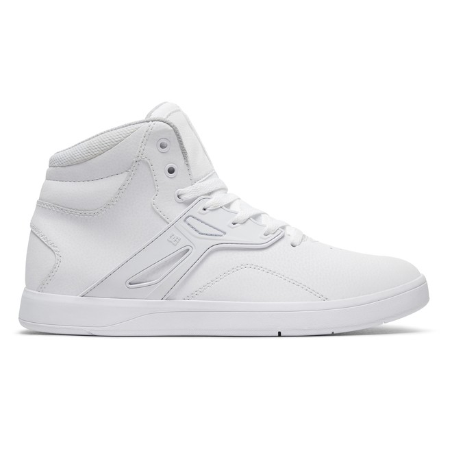 0 Frequency High - High-Top Shoes White ADYS100410 DC Shoes