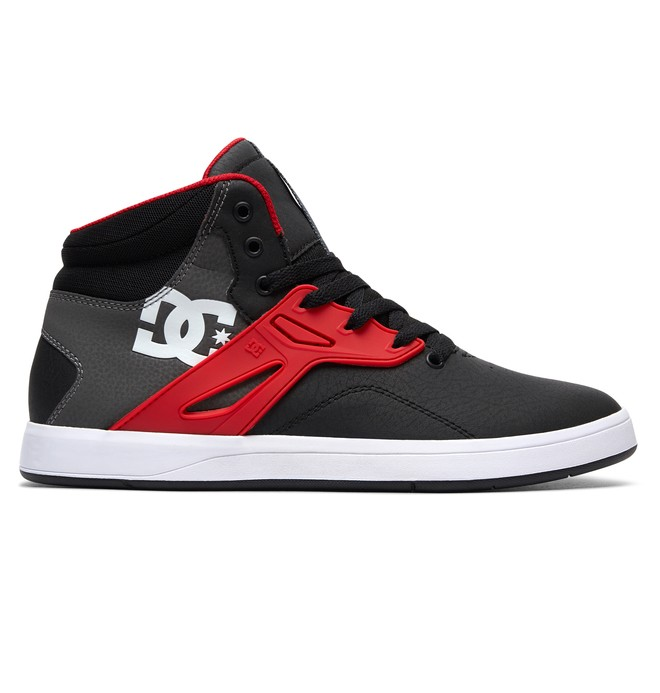 0 Men's Frequency High-Top Shoes Black ADYS100410 DC Shoes