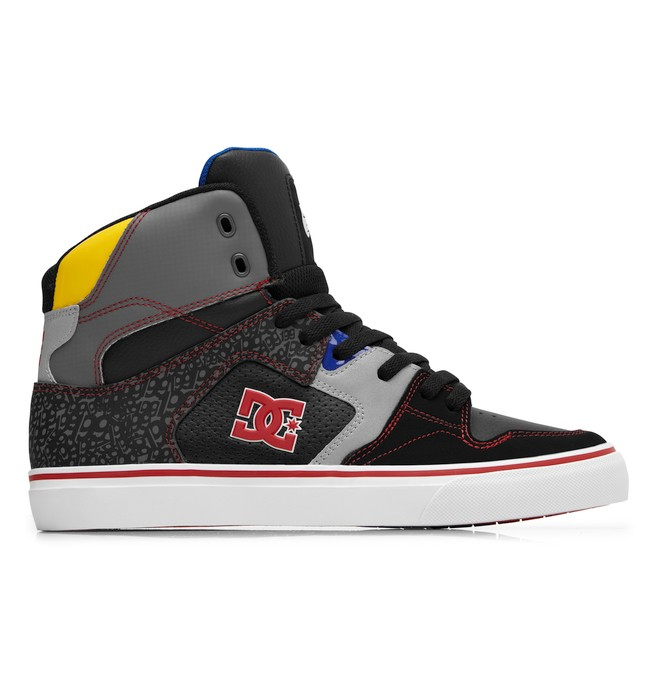 0 Men's Spec VLC 3.0 Travis Pastrana Shoes Black ADYS300015 DC Shoes