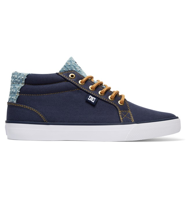 0 Council TX SE - Mid-Top Shoes Blue ADYS300075 DC Shoes