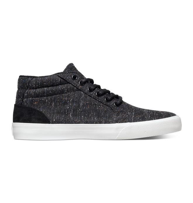 0 Men's Council SE Mid Shoes Black ADYS300076 DC Shoes