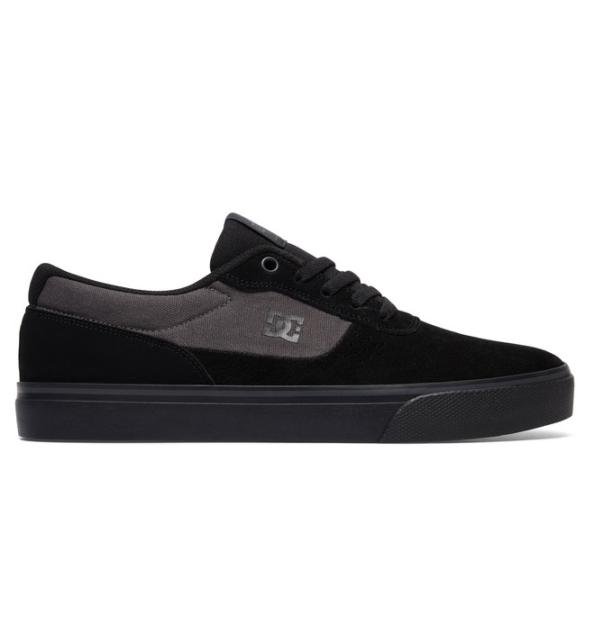 0 Men's Switch S Skate Shoes Black ADYS300104 DC Shoes
