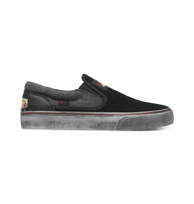 0 Trase S Cliver - Slip-On Skate Shoes  ADYS300174 DC Shoes
