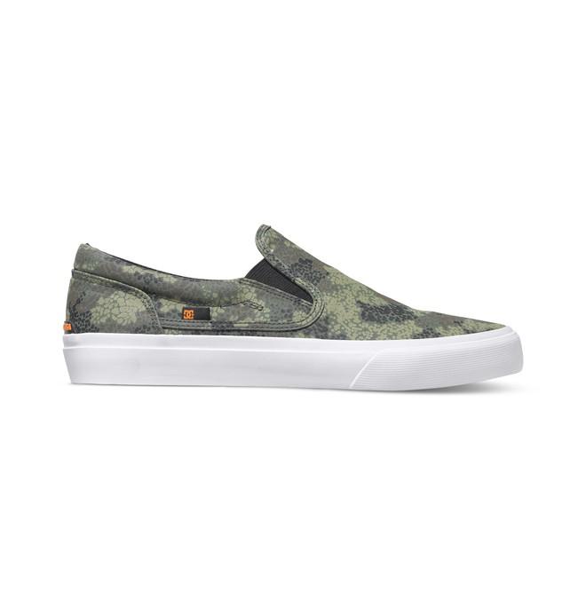 0 Men's Trase X DPM Slip-On Shoes  ADYS300189 DC Shoes