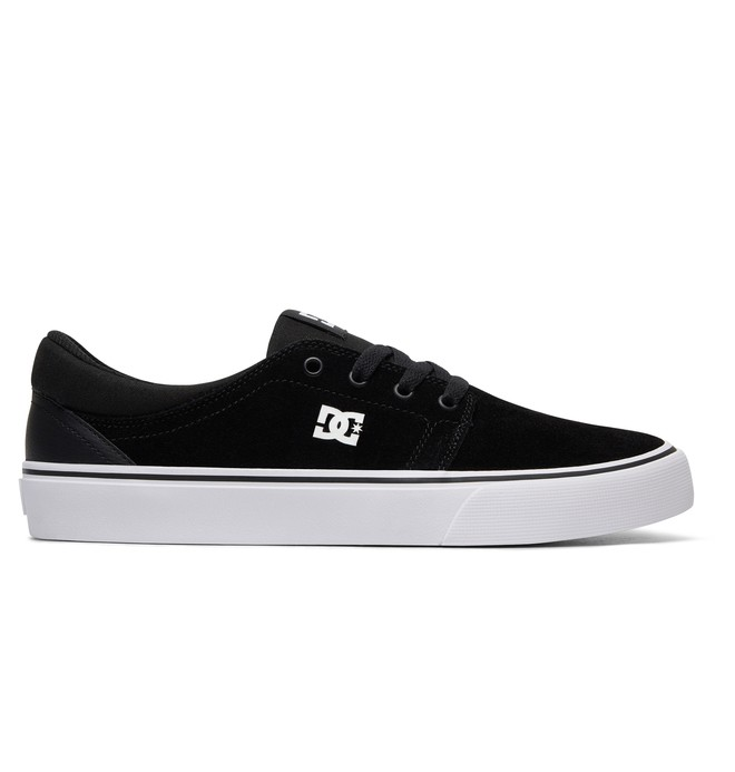 0 Men's Trase S Skate Shoes Black ADYS300206 DC Shoes
