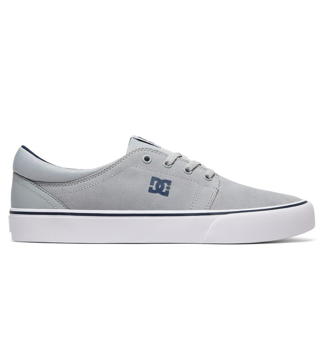 0 Trase S - Skate Shoes Grey ADYS300206 DC Shoes