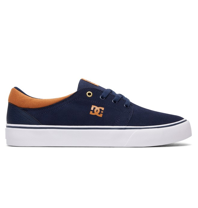 0 Trase S - Skate Shoes Blue ADYS300206 DC Shoes