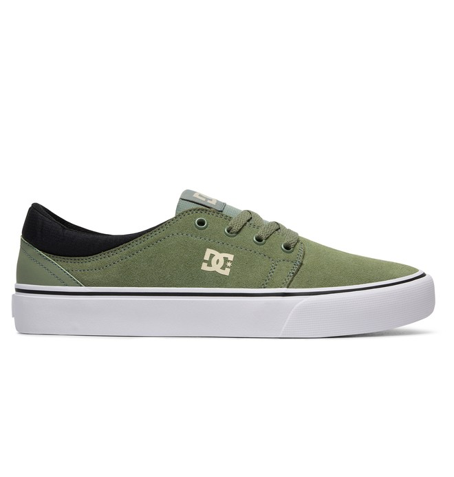 0 Trase S - Skate Shoes Green ADYS300206 DC Shoes