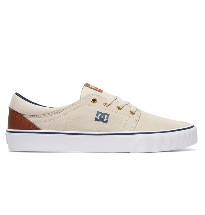 0 Trase S - Skate Shoes Beige ADYS300206 DC Shoes