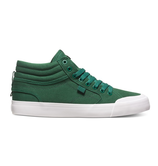 0 Men's Evan Smith Hi High Top Shoes Green ADYS300246 DC Shoes