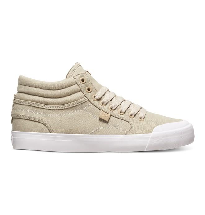 0 Men's Evan Smith Hi High Top Shoes Beige ADYS300246 DC Shoes
