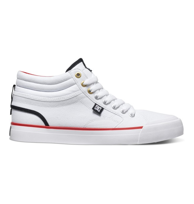 0 Men's Evan Smith Hi High Top Shoes White ADYS300246 DC Shoes