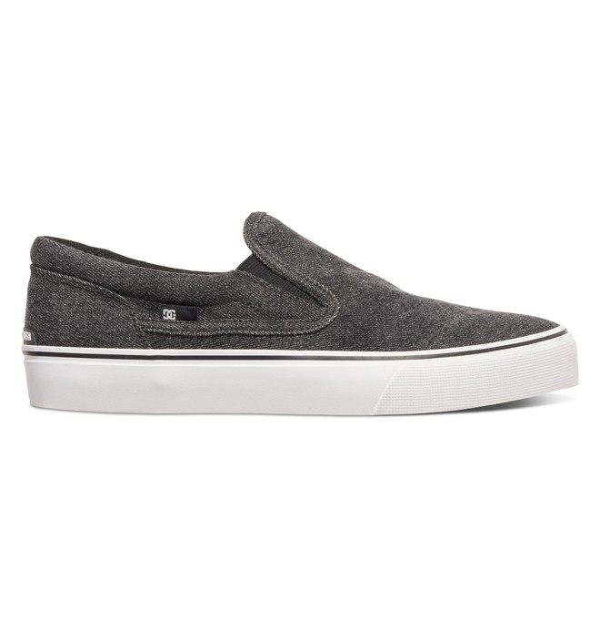 0 Trase TX LE - Chaussures slip-On Noir ADYS300366 DC Shoes