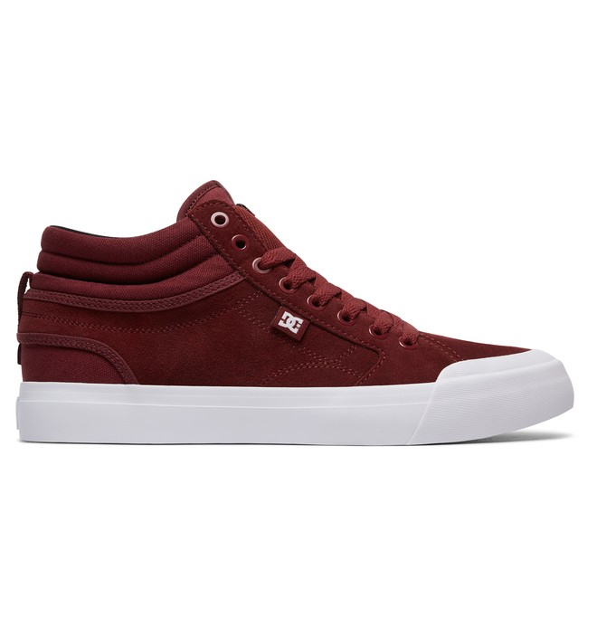 0 Men's Evan Smith Hi S High Top Skate Shoes Red ADYS300380 DC Shoes