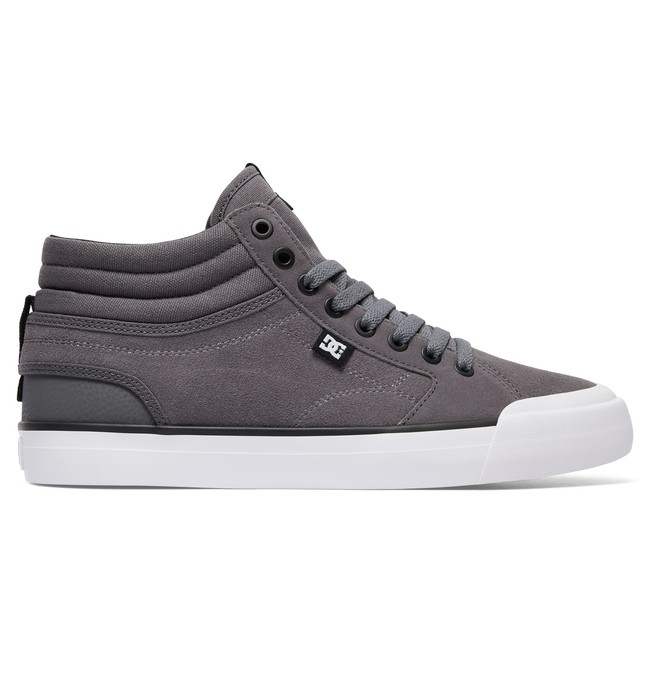 0 Men's Evan Smith Hi S High Top Skate Shoes Grey ADYS300380 DC Shoes