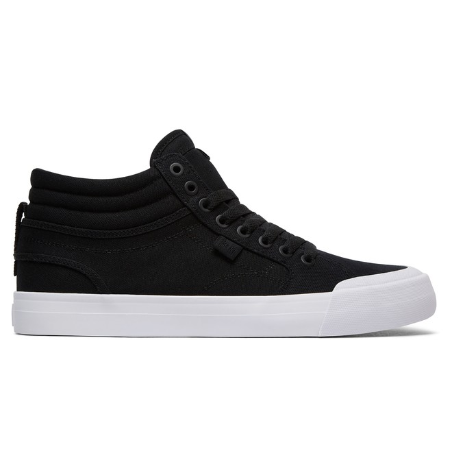 0 Men's Evan Smith Hi TX High Top Shoes Black ADYS300383 DC Shoes