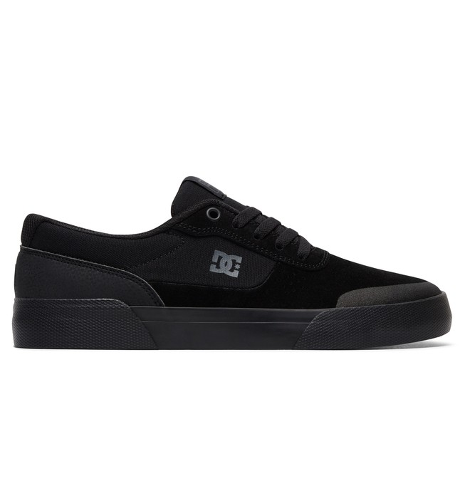 0 Men's Switch Plus S Skate Shoes Black ADYS300399 DC Shoes