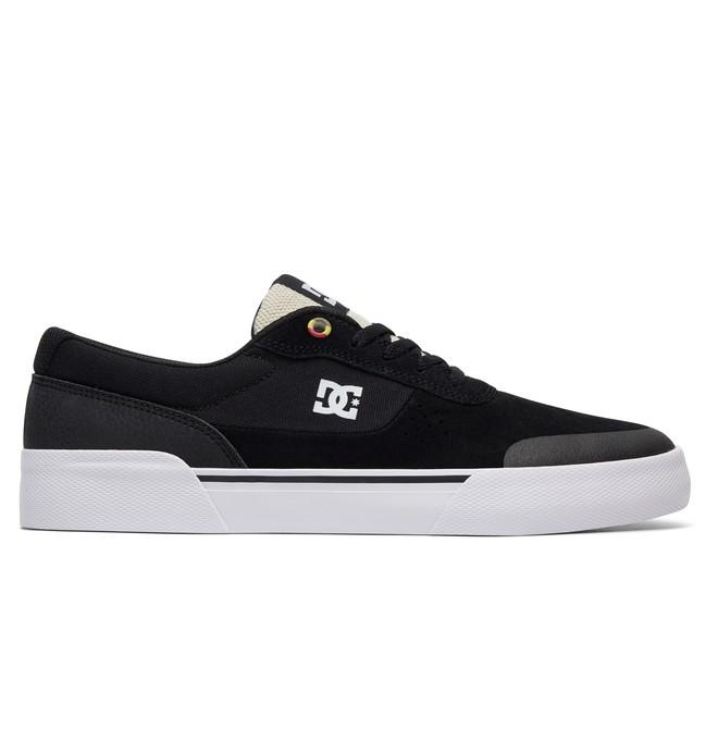 0 Men's Switch Plus S Skate Shoes Black ADYS300399 DC Shoes
