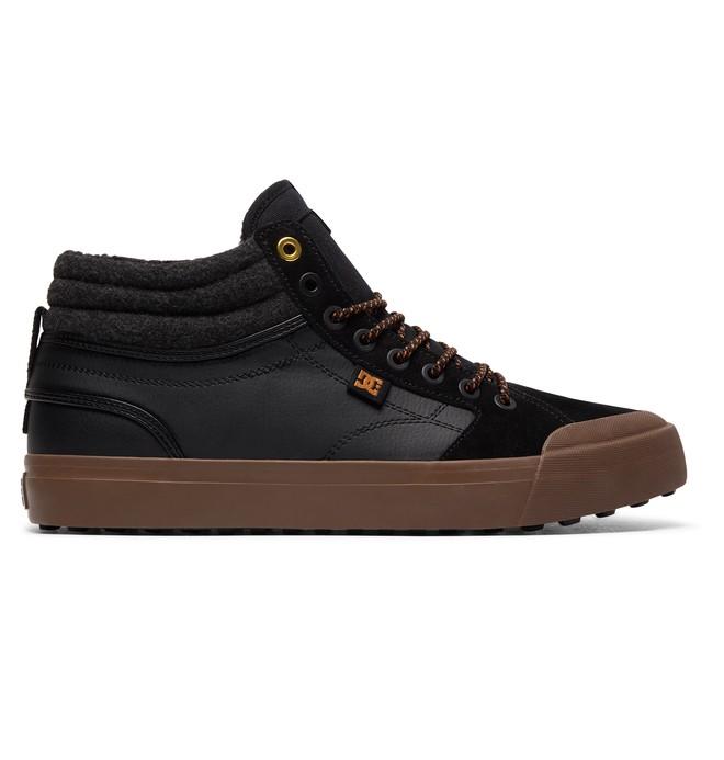 0 Men's Evan Smith Hi WNT High-Top Winter Shoes Black ADYS300412 DC Shoes