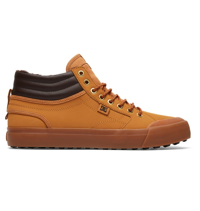 0 Men's Evan Smith Hi WNT High-Top Winter Shoes Beige ADYS300412 DC Shoes